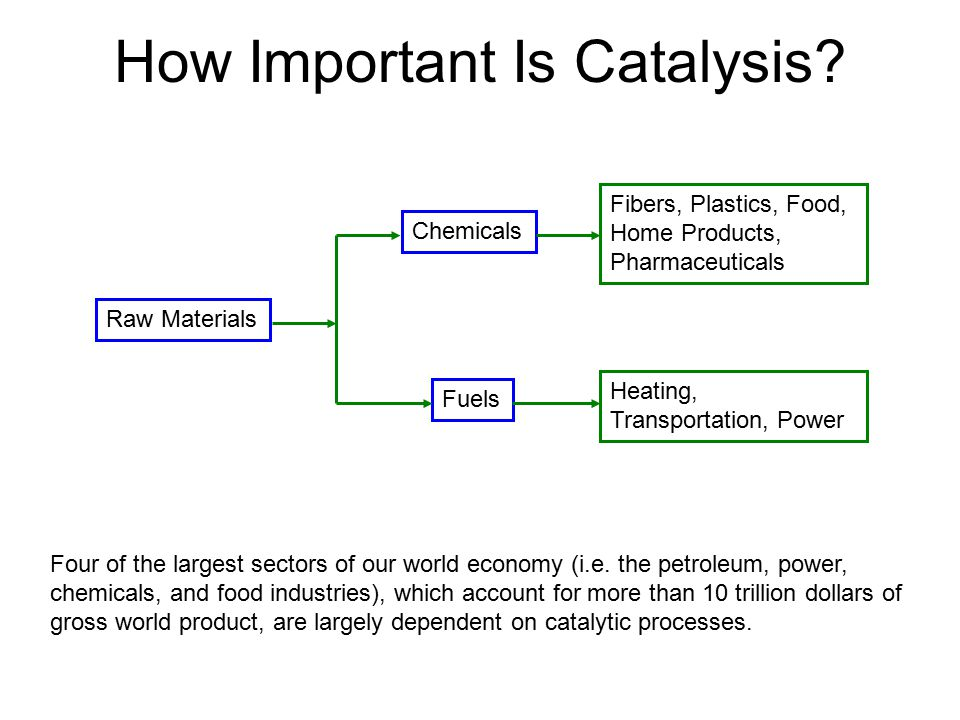 How Important Is Catalysis