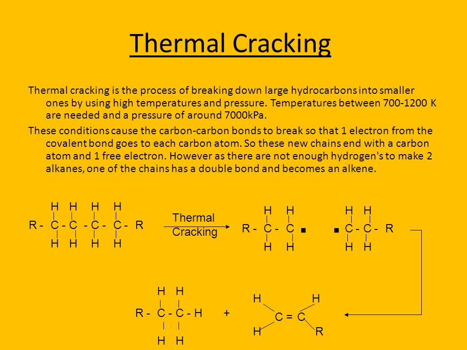 Thermal Cracking