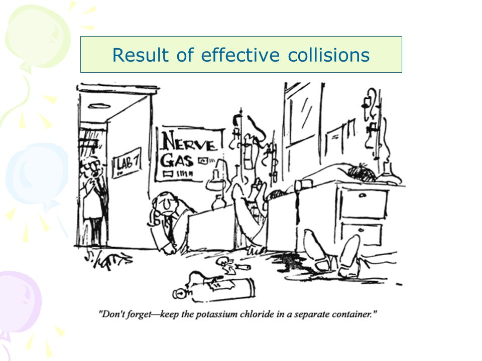 Result of effective collisions