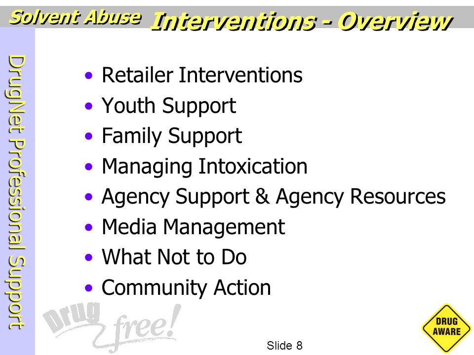 Interventions - Overview