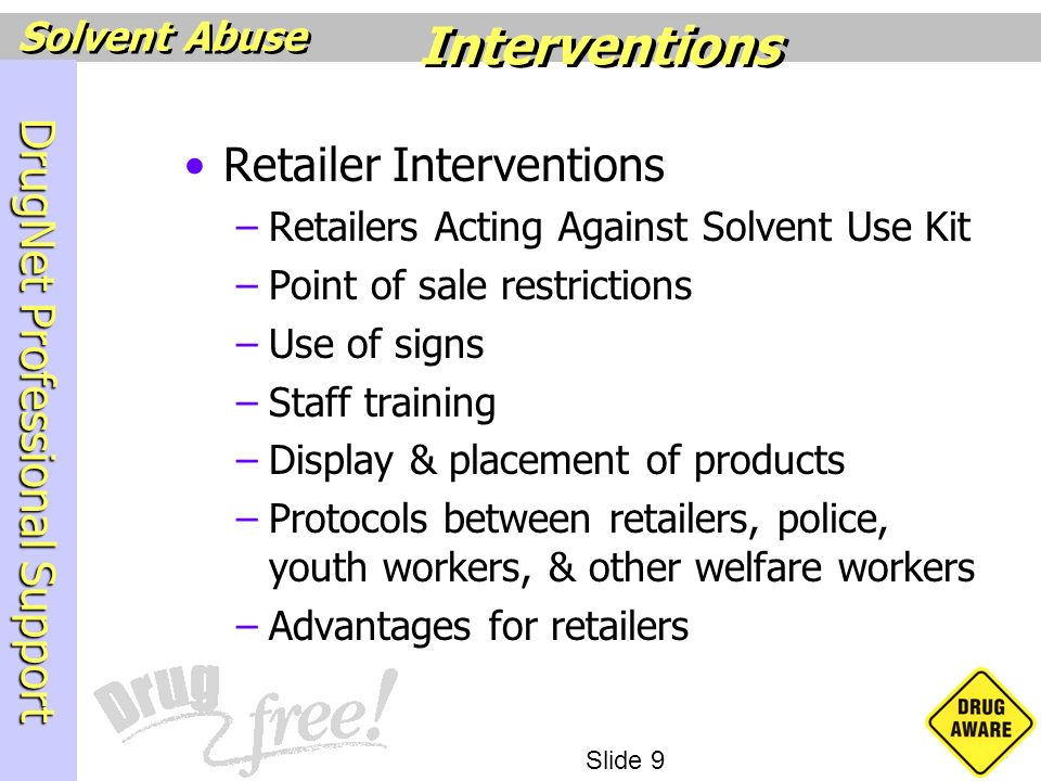 Interventions Retailer Interventions