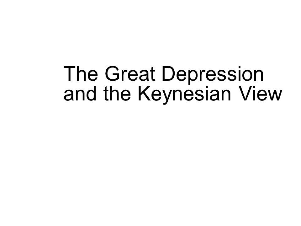 the keynesian economic depression model essay Keynesian theory the great depression can be greatly understood by the keynesian more about keynesian economics essay paper on keynesian contributions to public.