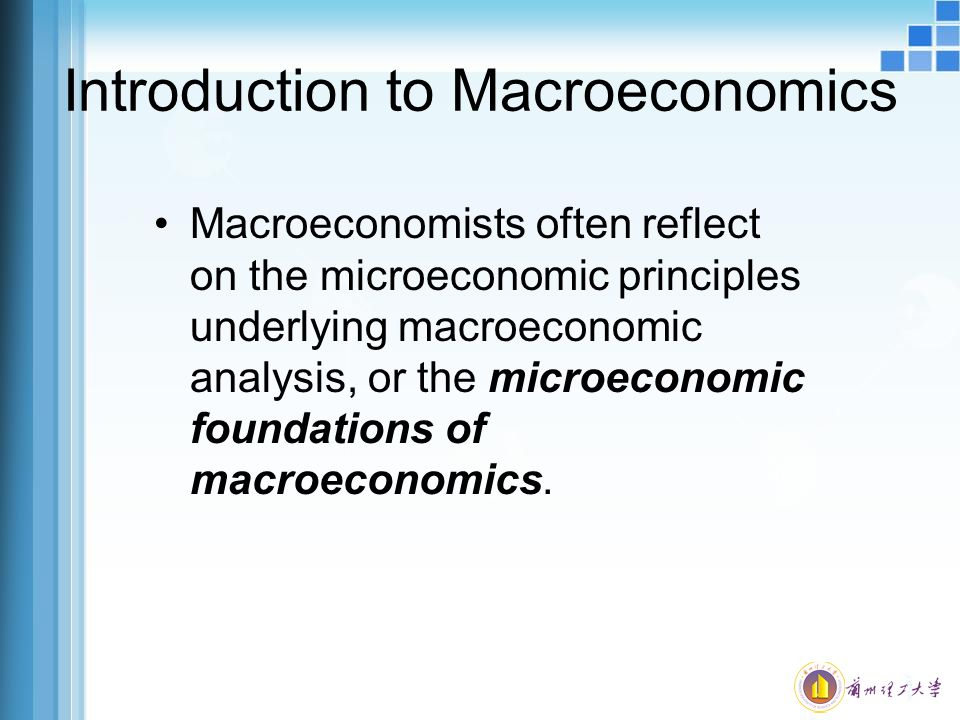 an introduction to the analysis of microeconomics Introduction to micro and macro economics the whole economic theory is  6)  static and dynamic analysis: microeconomics studies the.