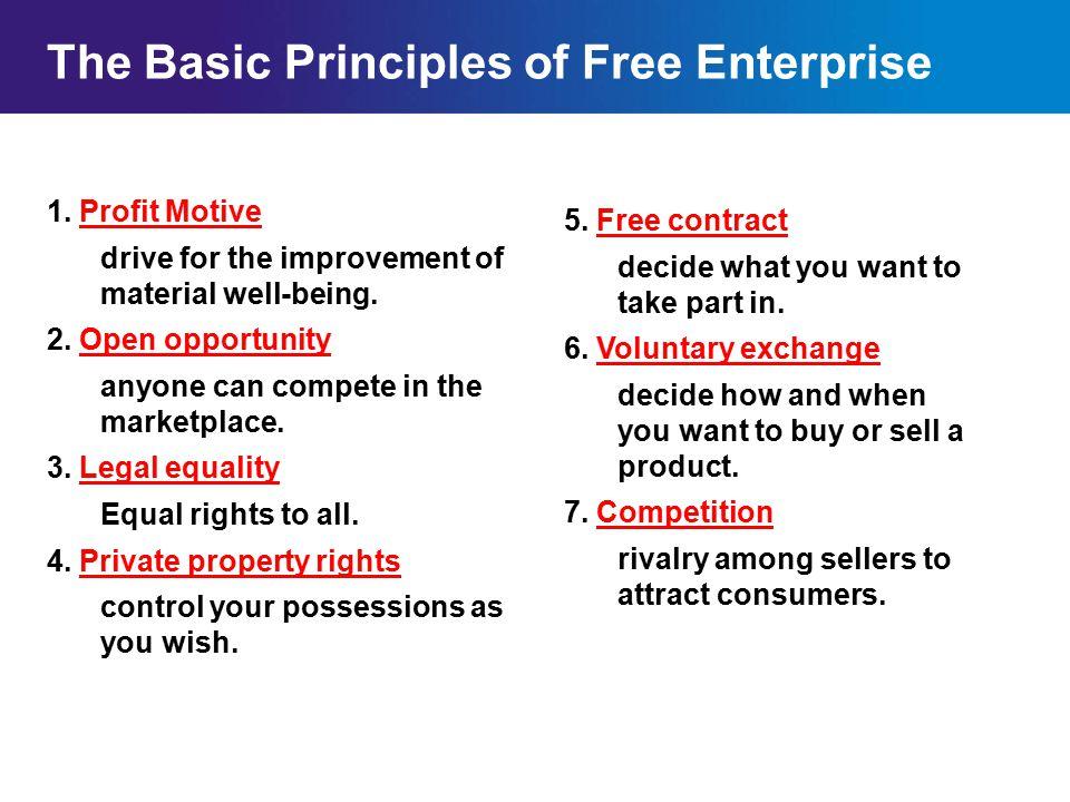 The Basic Principles Of Free Enterprise Ppt Video Online