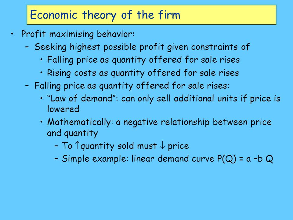 economics is the study of relationship between quantity