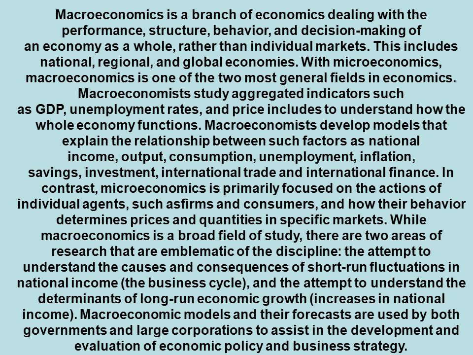 theories of international microeconomics International economics: theory and policy  or theories, meant to describe  international economics is growing in importance as a field of study because of the.