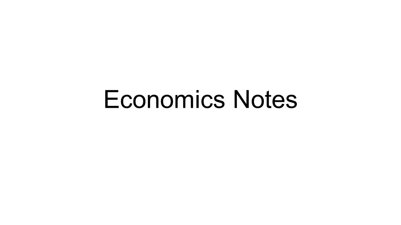 economy notes An overview of indian economy economics notes module - 7 indian economy 55 19 an overview of indian economy as citizens of india, it is very important for all of you to know about the economy of.
