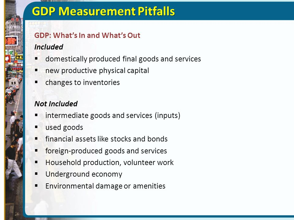 GDP Measurement Pitfalls
