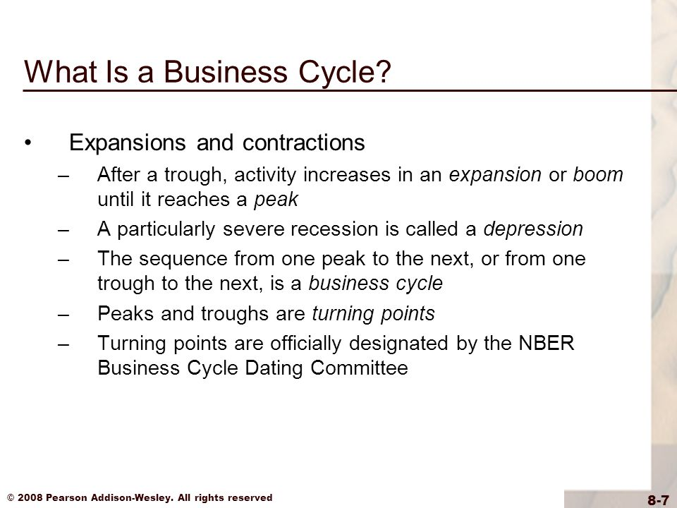 """business cycle dating committee nber The national bureau of economic research (nber) business cycle dating committee in november 2001 released a press announcement dating the onset of the recession as march 2001 the committee argued that """"before the attacks of september 11, it is possible that the decline in the economy would have been too mild to qualify as a recession."""