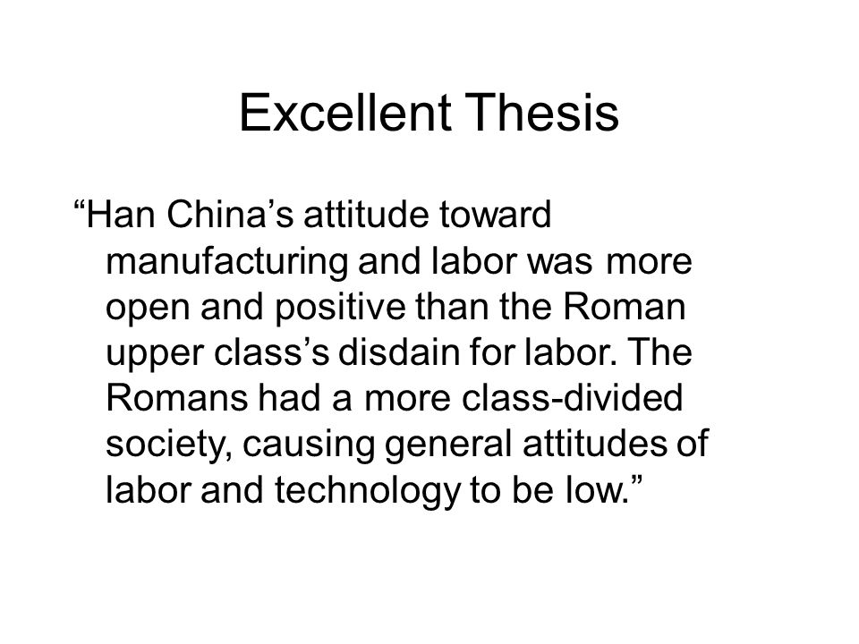 han and roman attitude toward technology Both the roman empire and han dynasty experienced huge advances in technology that set their empires a part from others.