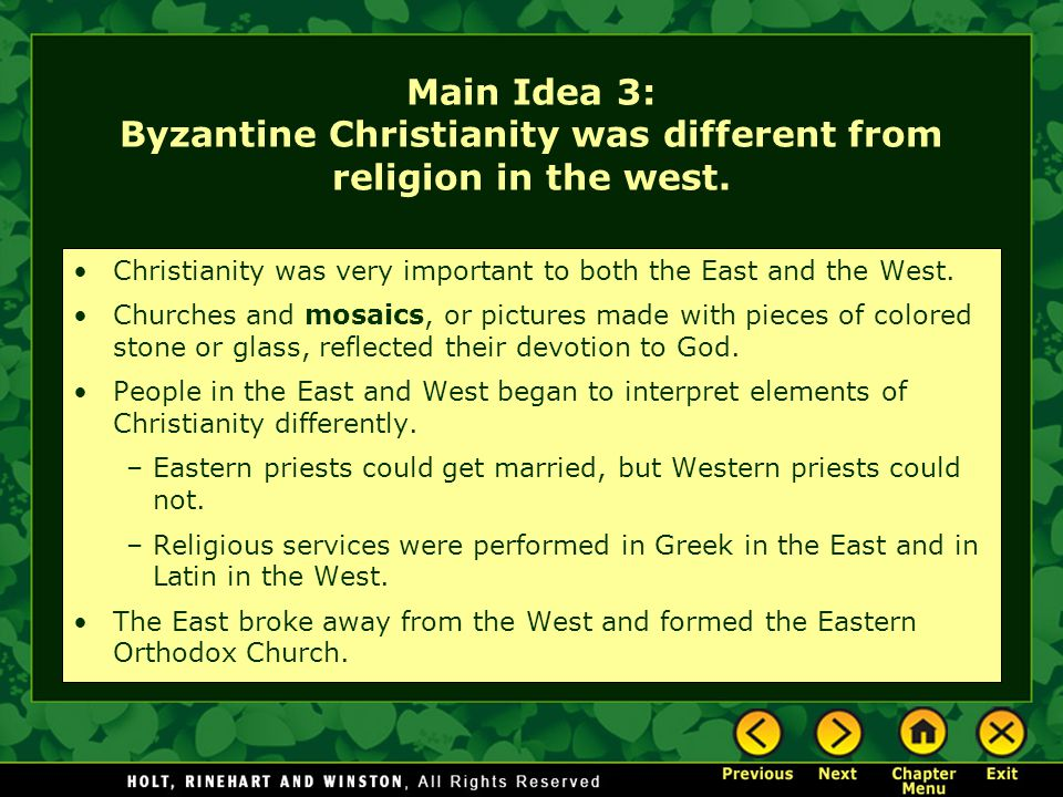 an analysis of the different aspects of the idea of christianity The religious face of america is largely a christian one, with roughly  but some  of the nation's biggest metropolitan areas have a very different look  but this  analysis does not include smaller cities, such as salt lake city,.