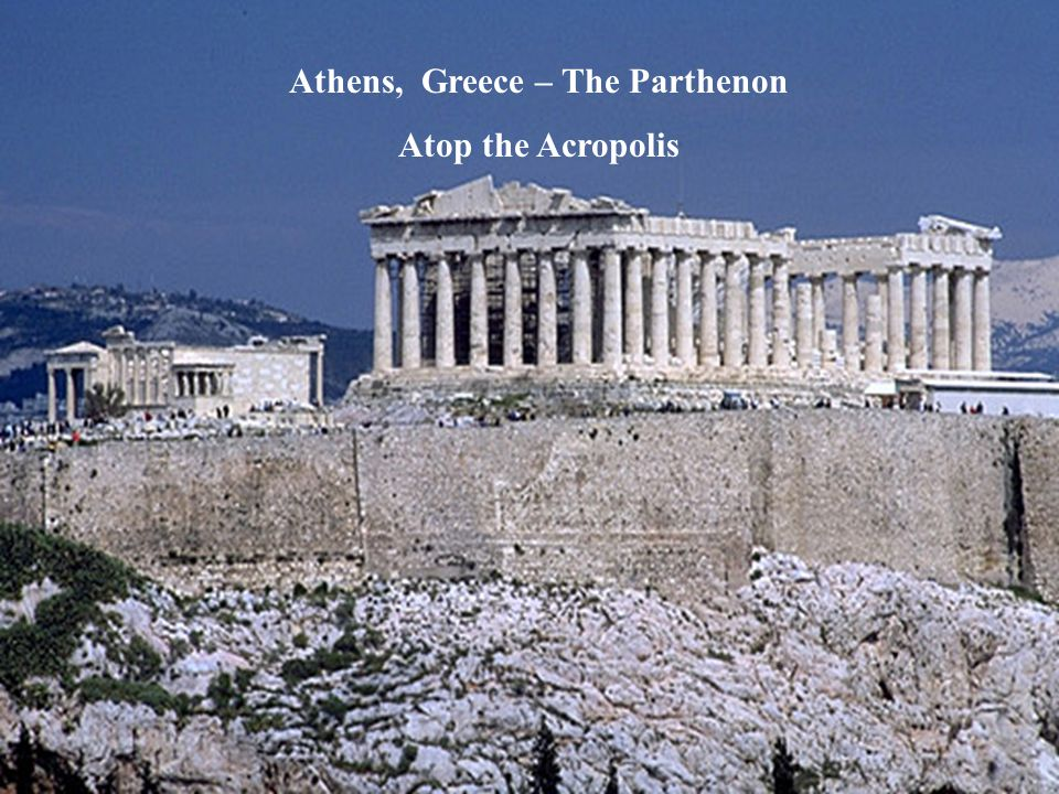 Athens, Greece – The Parthenon
