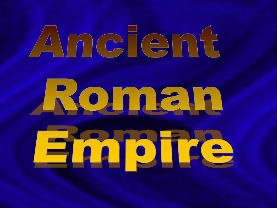 Ancient Roman Empire