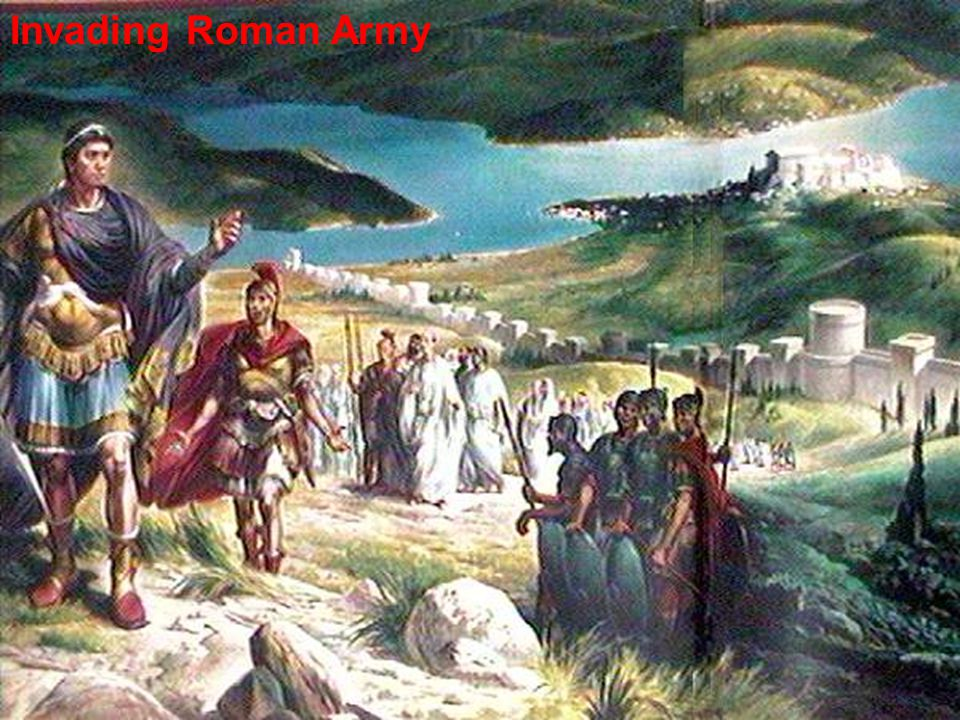 Invading Roman Army