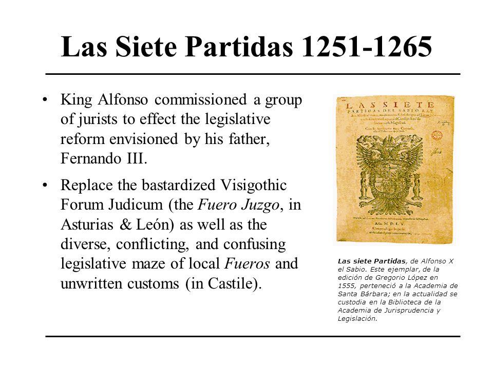 Las Siete Partidas 1251-1265
