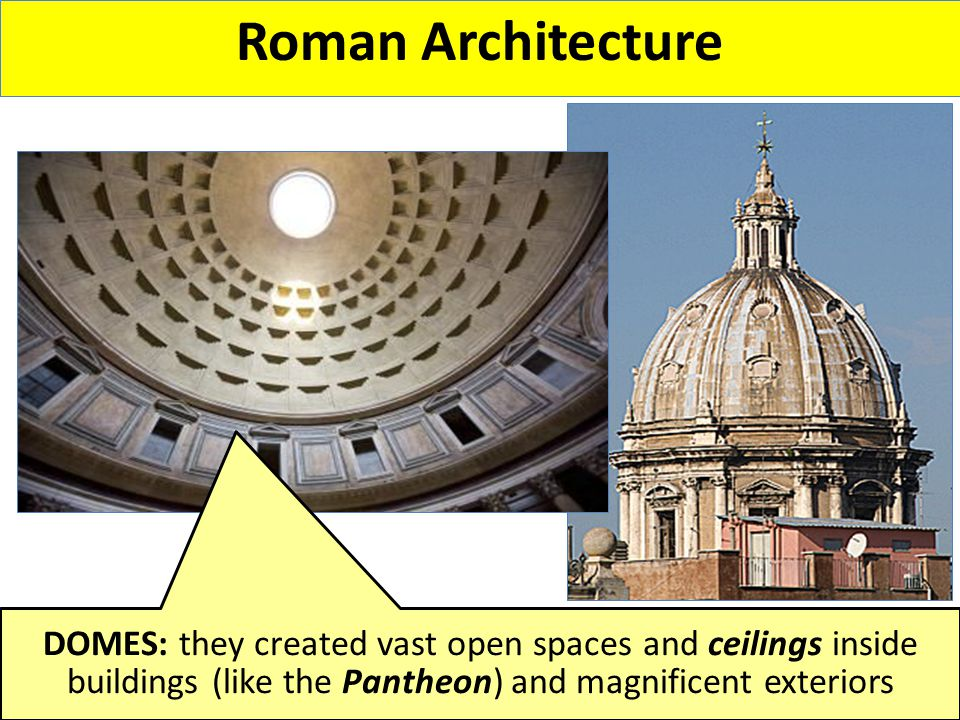 ROMAN ACHIEVEMENTS. - ppt video online download