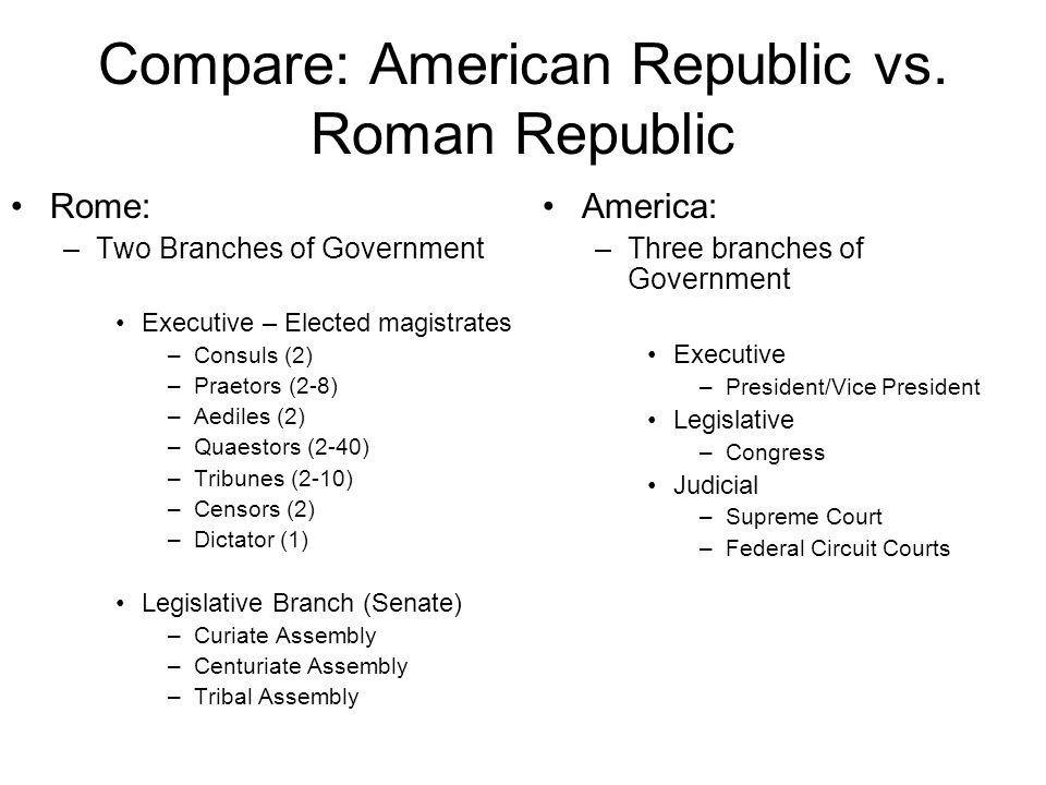 roman republic vs athenian democracy Do you think athenian democracy would work in the  the roman republic 509 bc- roman aristocrats overthrew the king and made a  the democracy and the republic.