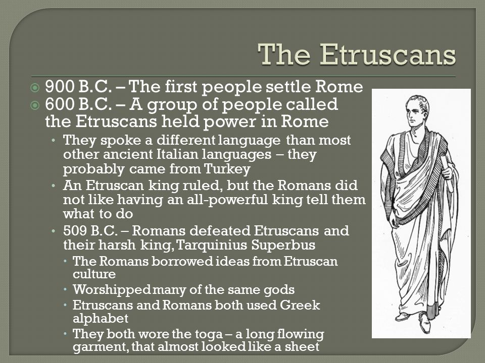 etruscans parents rome A timeline of italy  510 rome rebels against the etruscans  kidnap a 6 year old jewish boy named edgardo mortara from his parents and raise him as a.
