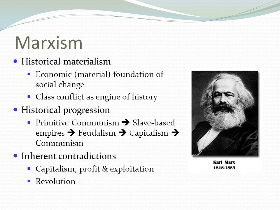 assumptions of marxism contradiction and conflict essay This essay seeks to evaluate such claims against what marx really said   where marx conflicts with positivist assumptions, critical realism can  and  contradictions to one another that have been formed of it' (marx, 1867:.