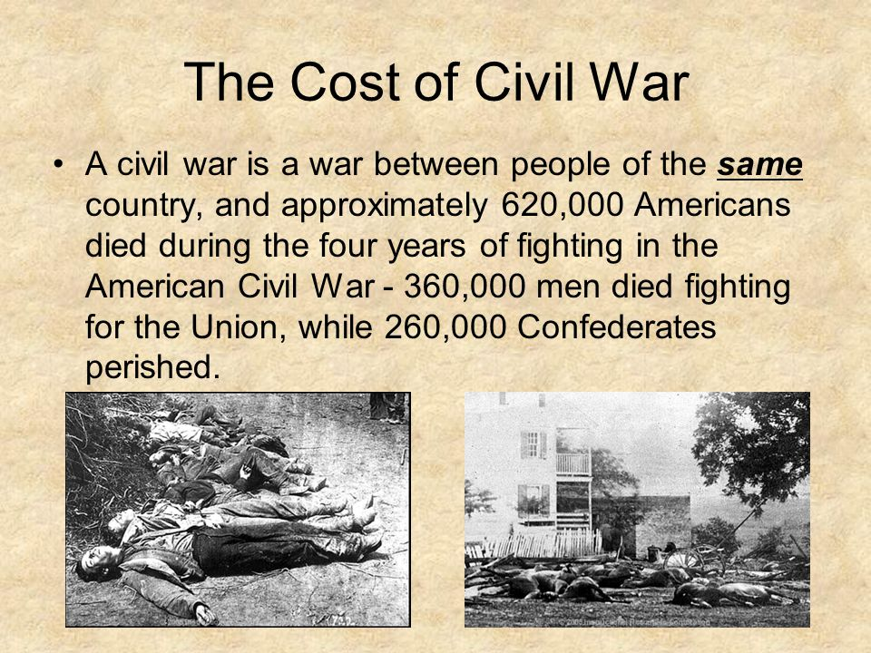 economic costs of civil war There is a consensus that civil wars entail enormous economic costs, but there is little systematic analysis of the determinants of their heterogeneous destructiveness moreover, reliably.