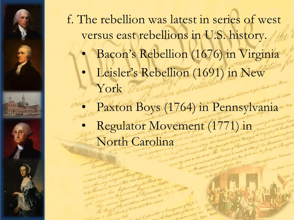 leislers rebellion Leisler ' s rebellion sources insurrection after james ii was forced to leave the throne in the glorious revolution of 1688, massachusetts overthrew the royal governor in charge of the dominion of new england, and dutch new yorkers soon followed suit.