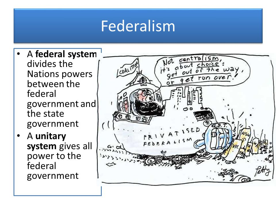 federal system of government In the federal system of india, the head of the executive union is the president of the countrythe real political as well as social power, however, resides in the hands of the prime minister, who.