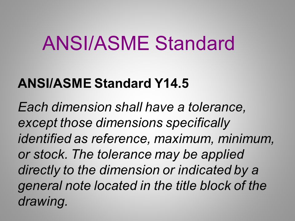 Dimensioning Review Objectives:.