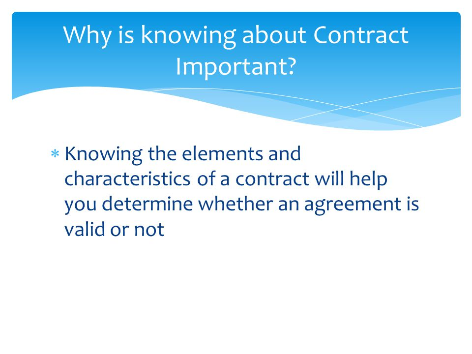 Unit  Contract Law  Ppt Video Online Download