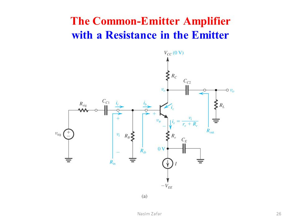 common emitter amplifier A walk through a simple audio common emitter amplifier design for beginners.
