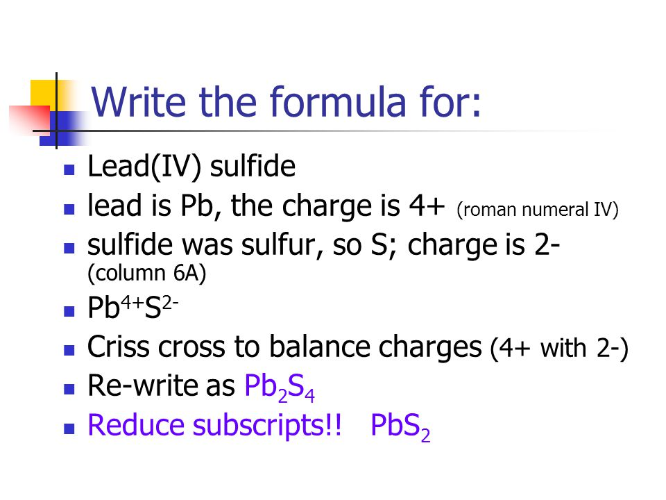 Criss Cross Method For Chemical Formulas Coursework Academic Writing