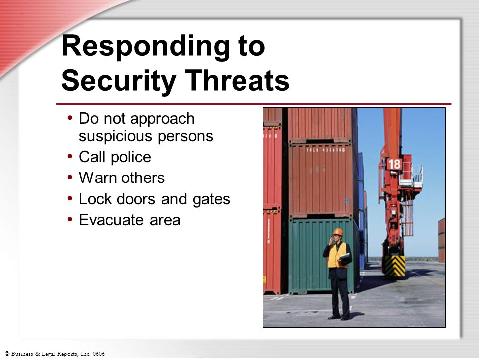 Responding to Security Threats