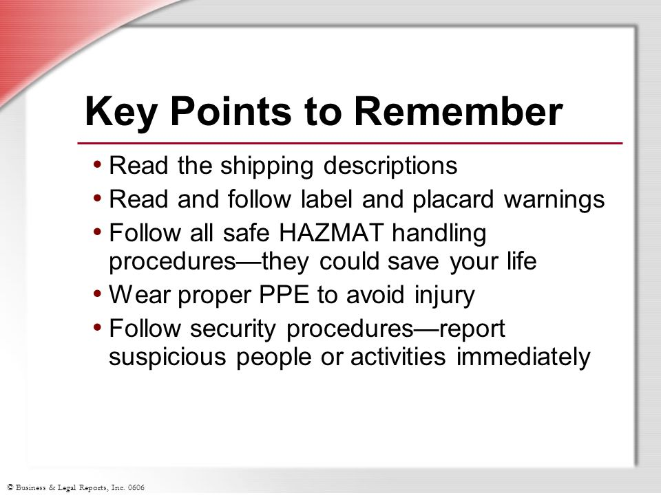 Key Points to Remember Read the shipping descriptions