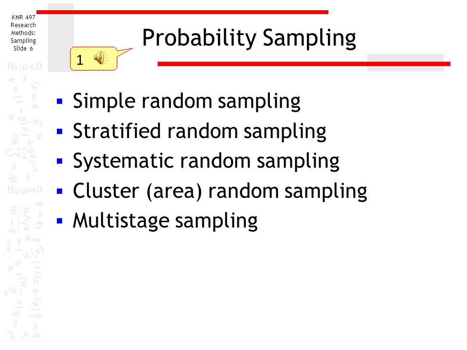 stratified random sampling The function selects stratified simple random sampling and gives a sample as a result extra two columns are added - inclusion probabilities (prob) .