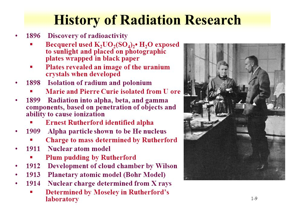 History of Radiation Research