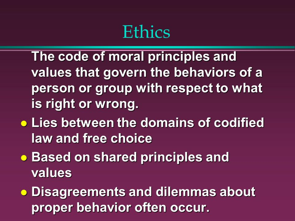 Applied Ethics