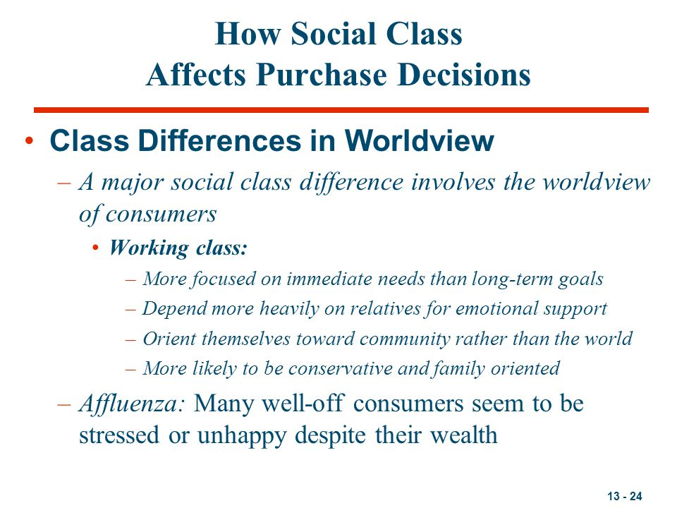 how does social class affect life chances Does a person's position of social class affect their life chances in todays world.