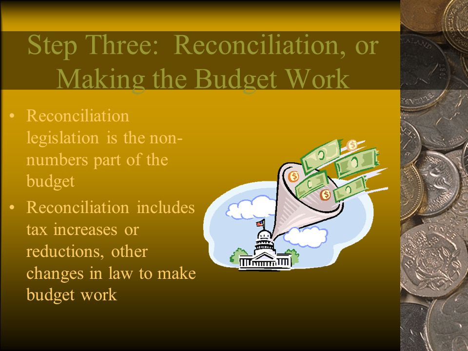 Step Three: Reconciliation, or Making the Budget Work