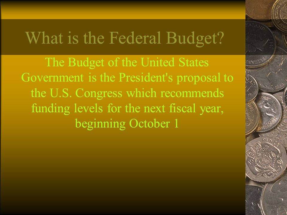 What is the Federal Budget