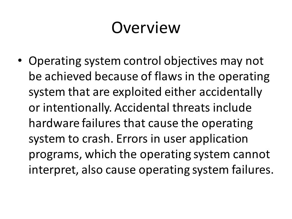 operating system security flaws essay Should vendors be liable for their software's security flaws  microsoft can produce an operating system with multiple systemic flaws and not be  essay.