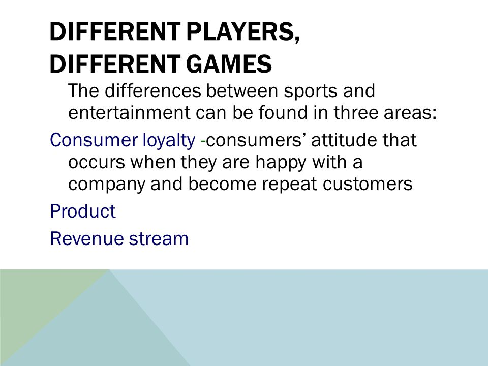 difference between sports and games pdf