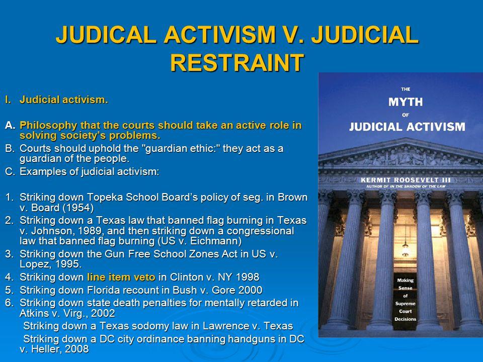 law judicial activism