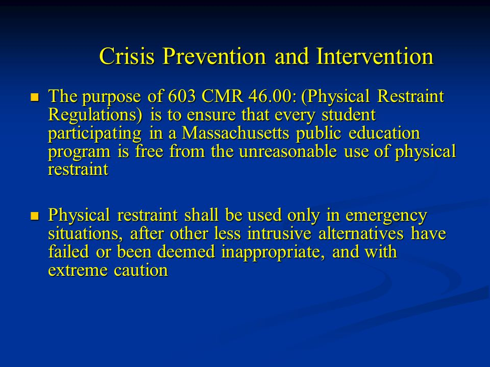 prevention and crisis intervention Ohio state representative marlene anielski proposed house bill 28 suicide prevention law and was passed and became effective october 16, 2016 house bill 28 says that state institutions of higher education shall have suicide prevention programs that address crisis intervention access, mental health program access, multimedia application access, student communication plans and postvention plans.