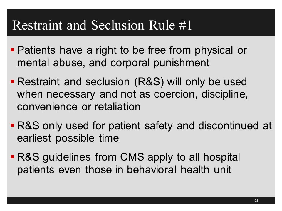 CMS HOSPITAL R&S CONDITIONS OF PARTICIPATION (COPS) ppt ...
