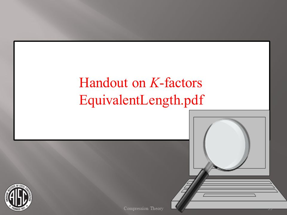 Handout on K-factors EquivalentLength.pdf Compression Theory