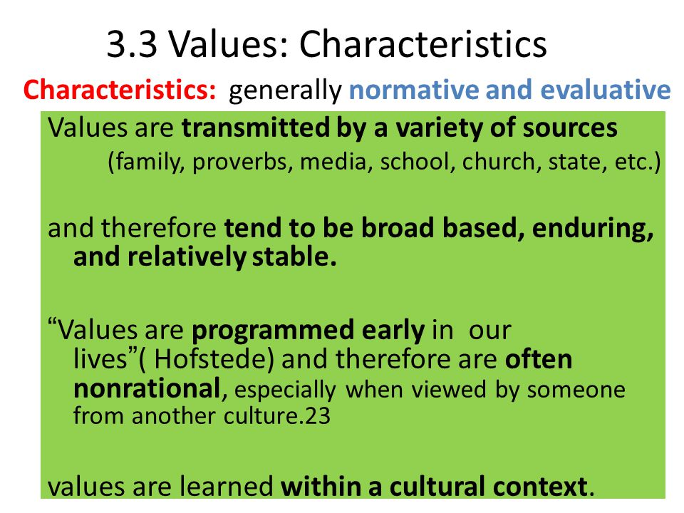 the values and characteristics demonstrated by Va core values and characteristics every day, you demonstrate who we are and what we stand for • look for every opportunity to demonstrate our values in action.