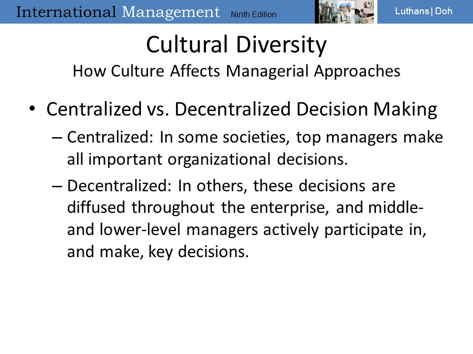how culture affects managers pdf