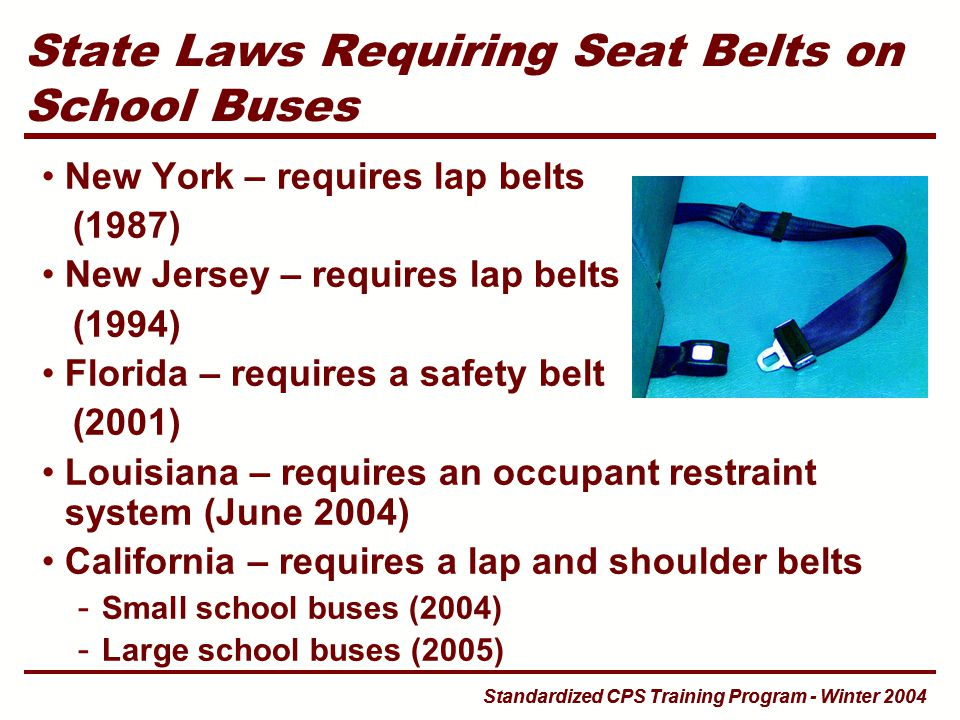 seatbelt laws Alaska seat belts or child restraints are required for the driver and all passengers age 16 and older violation of seat belt law is a standard offense.