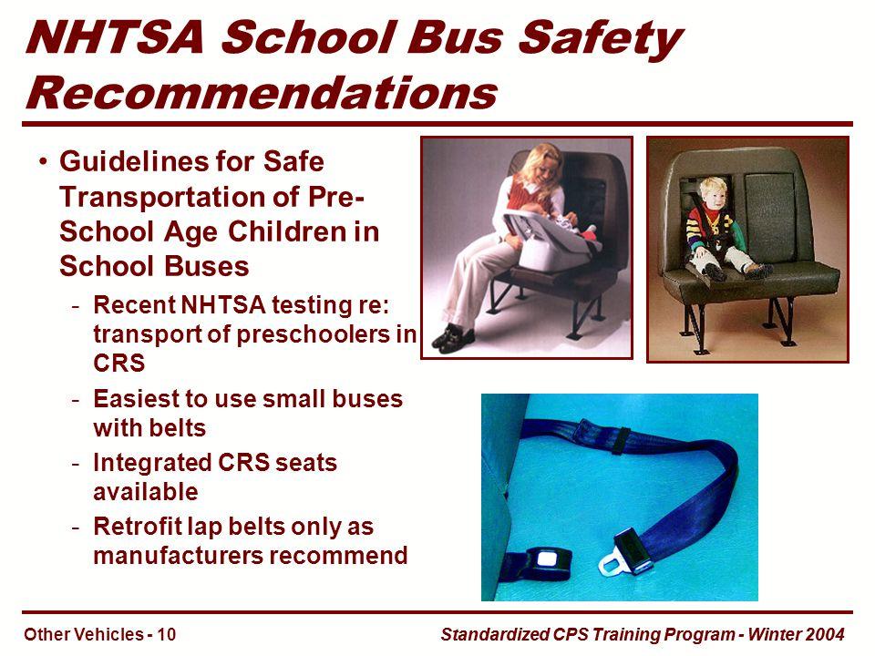 child passenger safety seat system