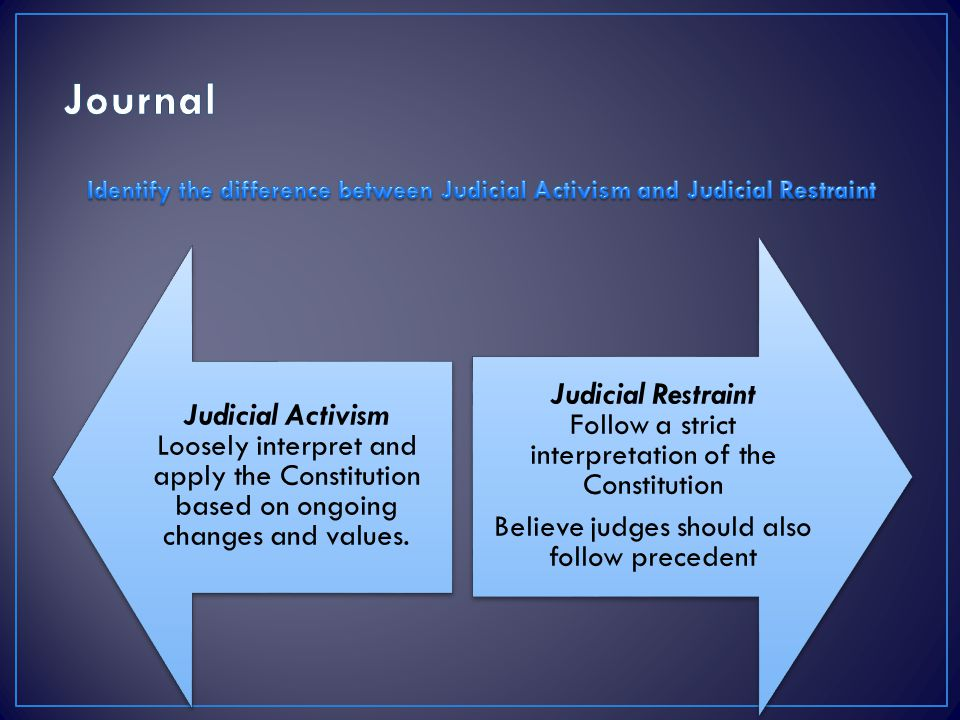 difference between judicial review and judicial activism A judicial review is used to challenge whether a decision in a particular case is lawful therefore, it is used to determine if the act itself was illegal an appeal challenges the particular .