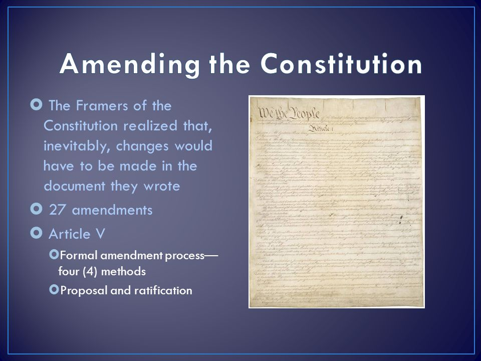 the manipulation and amendments of the constitution by the framers Read judicial independence and the american constitution by martin h redish by martin h redish for free with a 30 day free trial read ebook on the web, ipad.